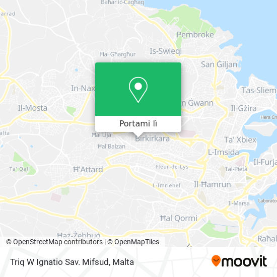 Mappa Triq W Ignatio Sav. Mifsud