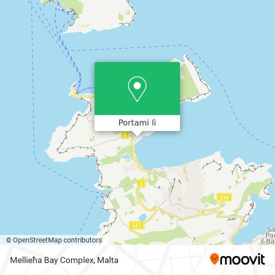 Mappa Mellieħa Bay Complex