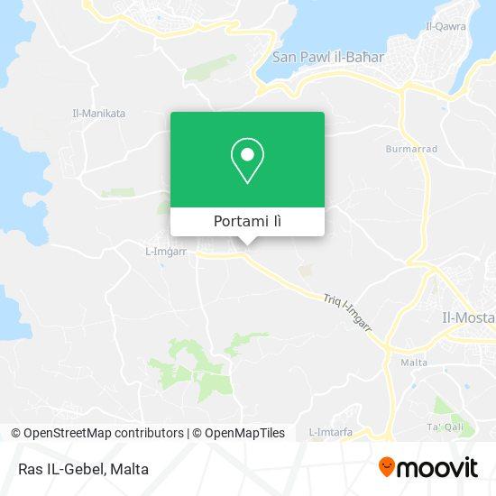 Mappa Ras IL-Gebel
