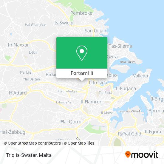 Mappa Triq is-Swatar