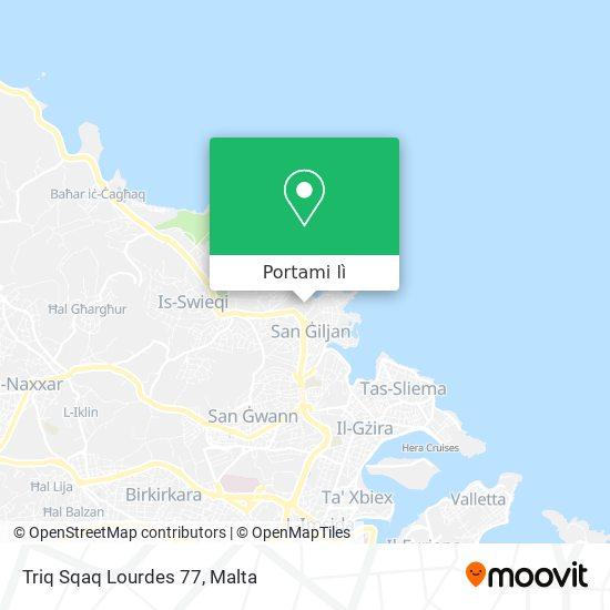 Mappa Triq Sqaq Lourdes 77