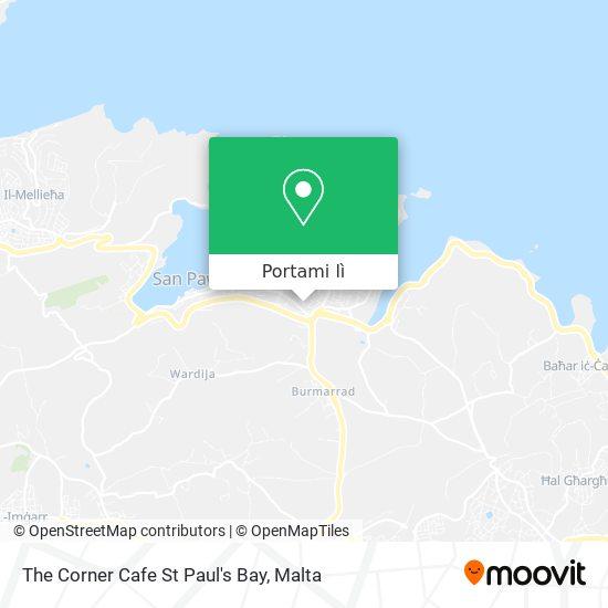 Mappa The Corner Cafe St Paul's Bay