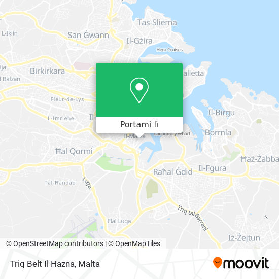 Mappa Triq Belt Il Hazna