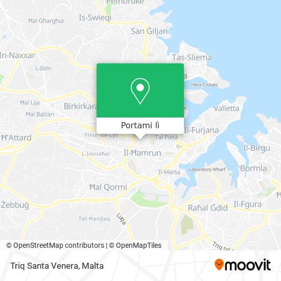Mappa Triq Santa Venera