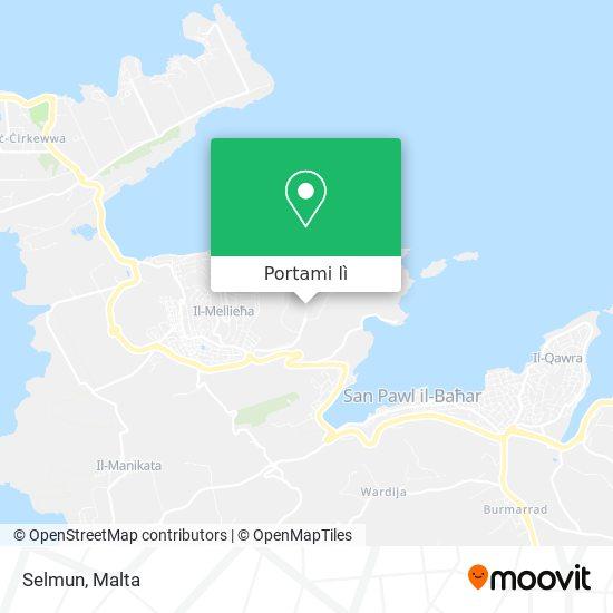Mappa Selmun