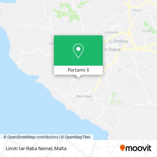 Mappa Limiti tar-Raba Nemel