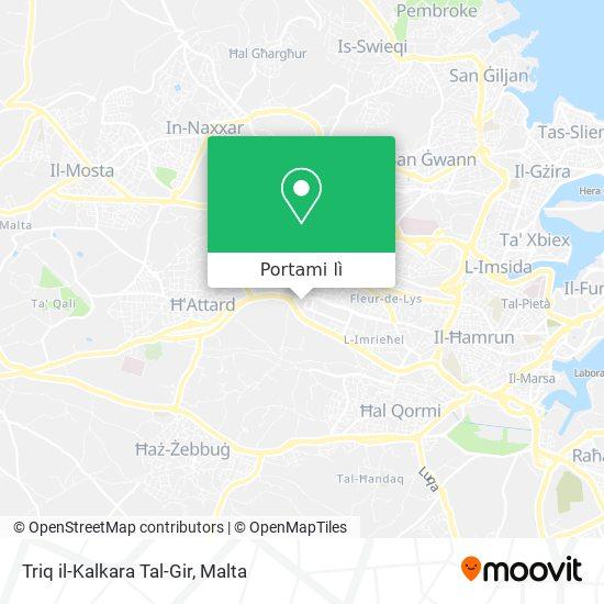 Mappa Triq il-Kalkara Tal-Gir