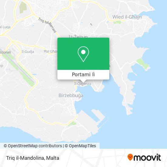 Mappa Triq il-Mandolina