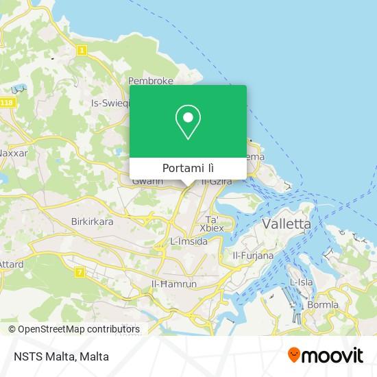 Mappa NSTS Malta