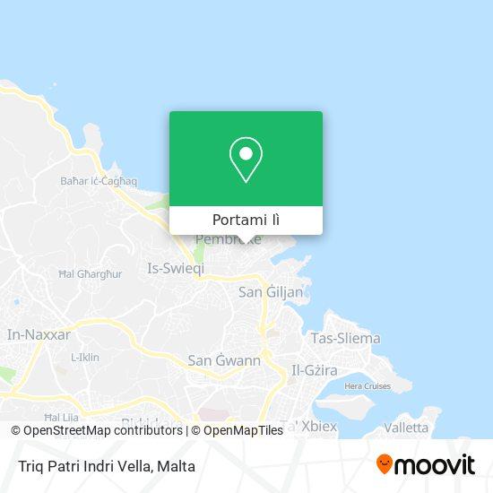 Mappa Triq Patri Indri Vella
