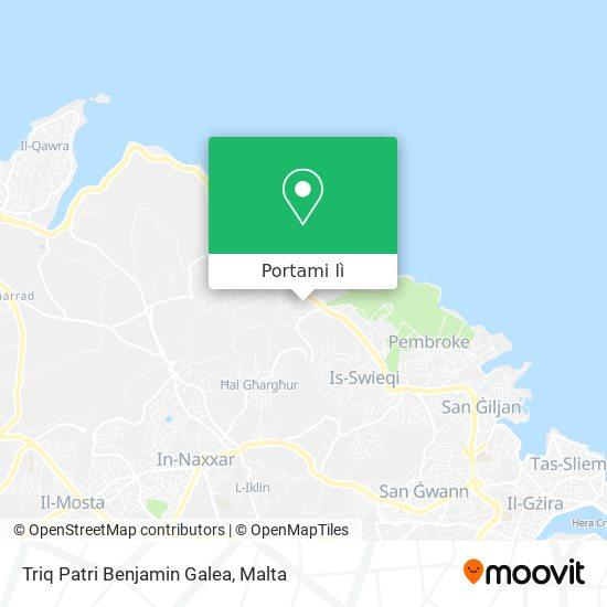Mappa Triq Patri Benjamin Galea