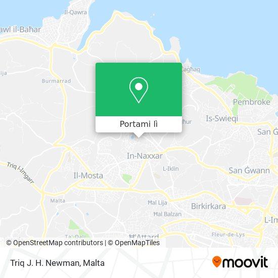 Mappa Triq J. H. Newman