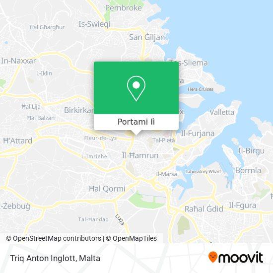 Mappa Triq Anton Inglott