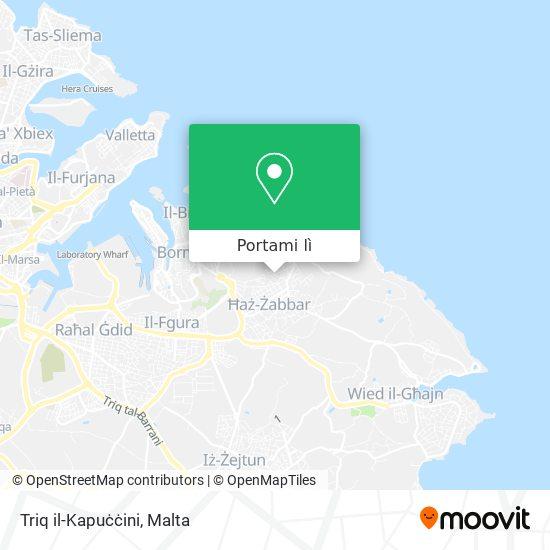 Mappa Triq il-Kapuċċini