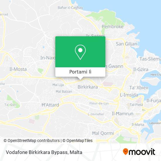 Mappa Vodafone Birkirkara Bypass