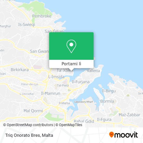 Mappa Triq Onorato Bres