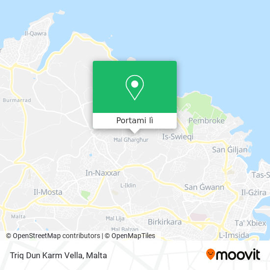Mappa Triq Dun Karm Vella