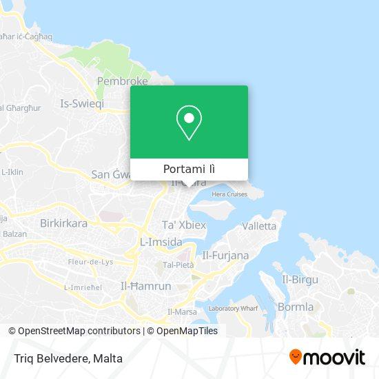 Mappa Triq Belvedere
