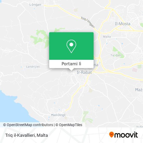 Mappa Triq il-Kavallieri