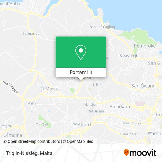 Mappa Triq in-Nissieg