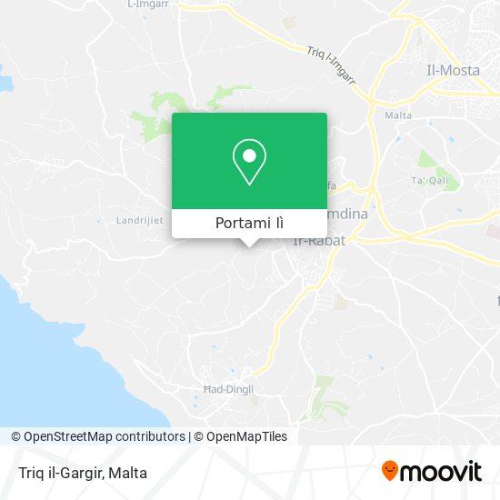 Mappa Triq il-Gargir
