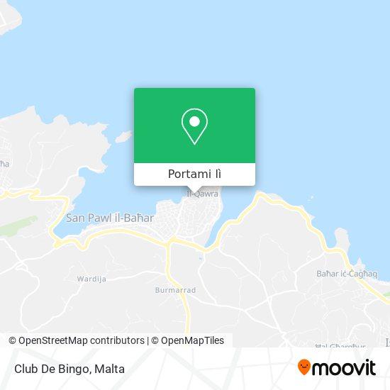 Mappa Club De Bingo