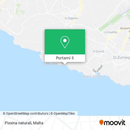 Mappa Pixxina naturali