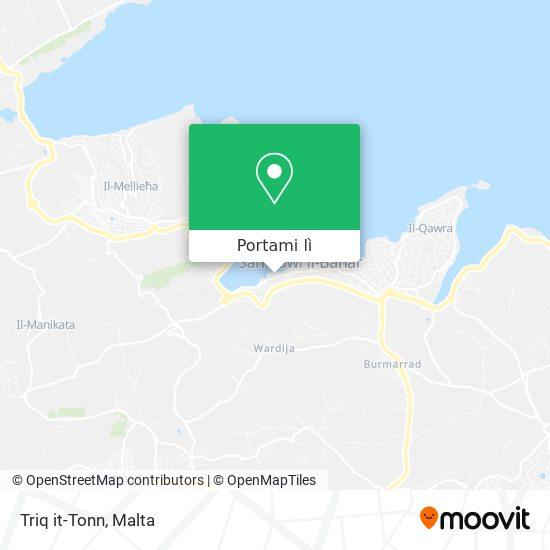 Mappa Triq it-Tonn
