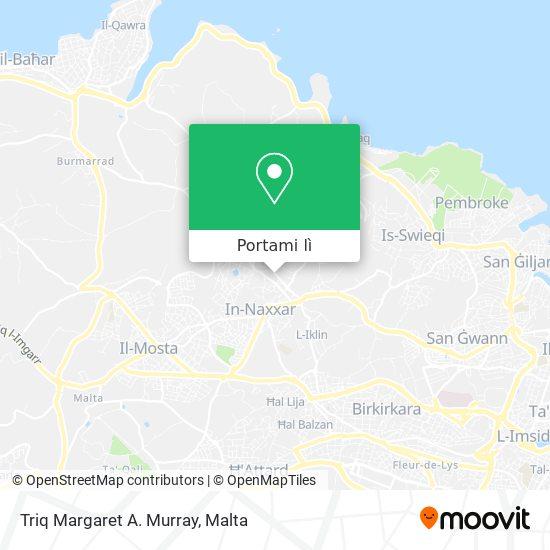 Mappa Triq Margaret A. Murray