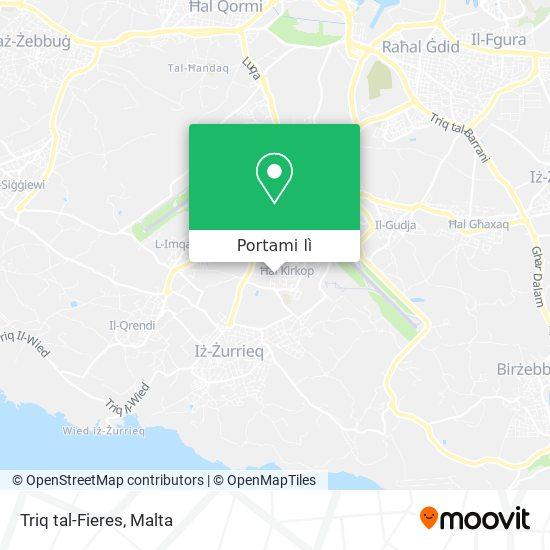 Mappa Triq tal-Fieres
