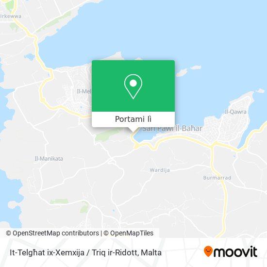 Mappa It-Telgħat ix-Xemxija / Triq ir-Ridott