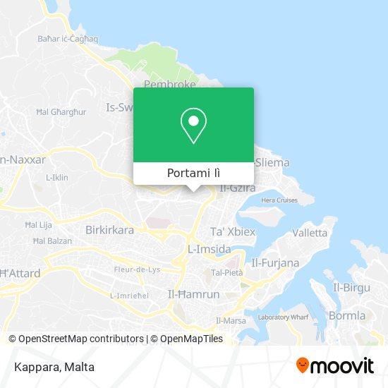 Mappa Kappara