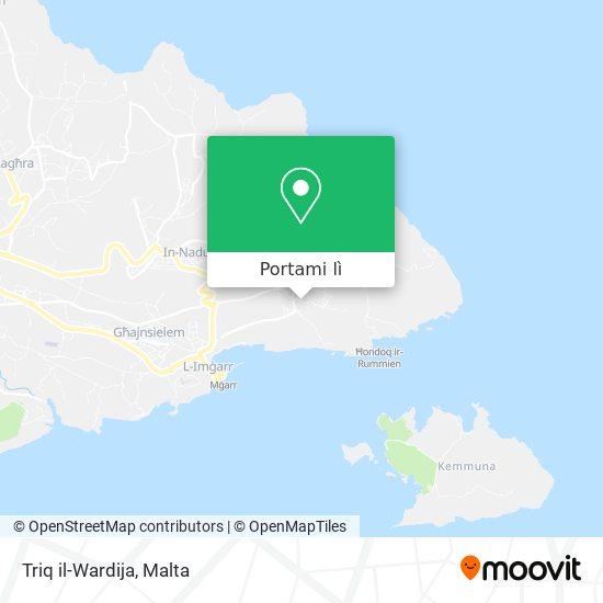 Mappa Triq il-Wardija