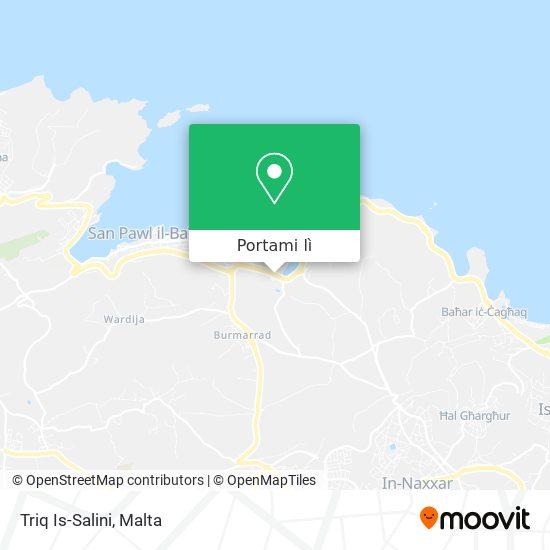 Mappa Triq Is-Salini