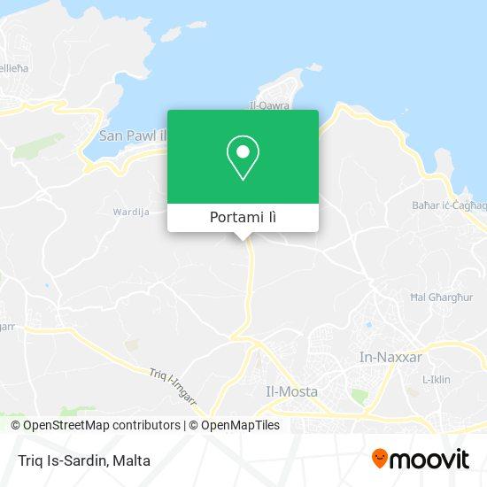 Mappa Triq Is-Sardin