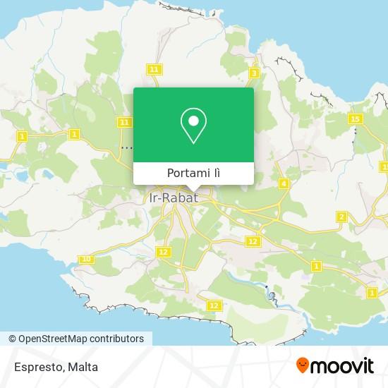 Mappa Espresto