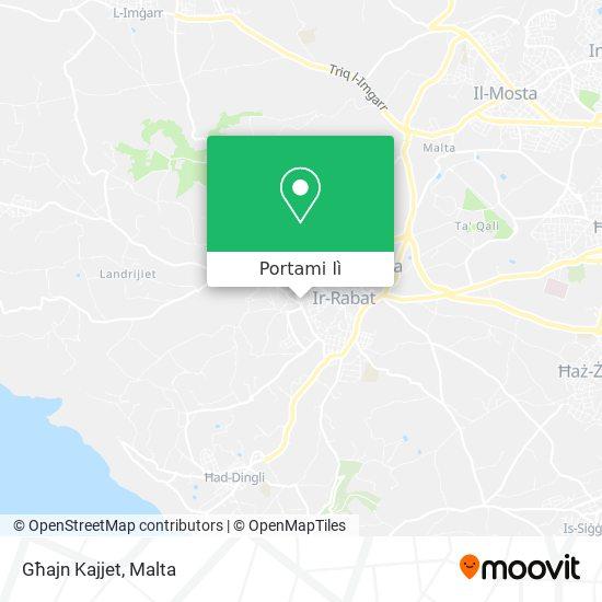Mappa Għajn Kajjet