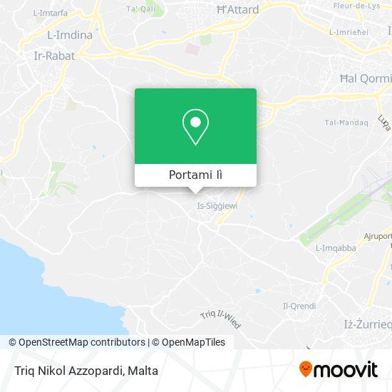 Mappa Triq Nikol Azzopardi