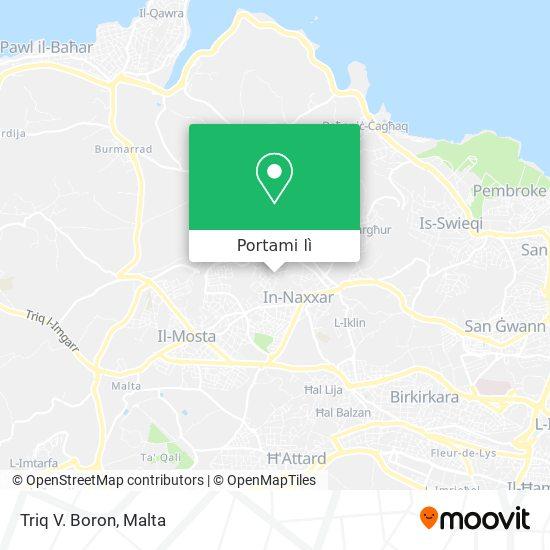 Mappa Triq V. Boron