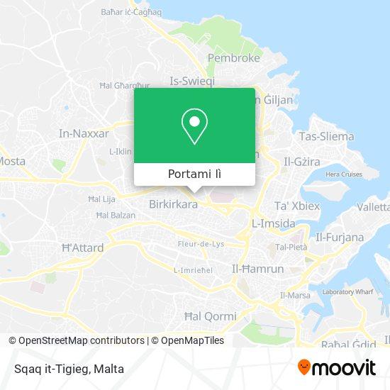 Mappa Sqaq it-Tigieg