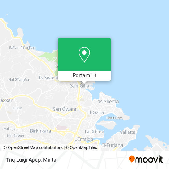 Mappa Triq Luigi Apap