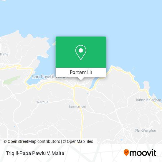 Mappa Triq il-Papa Pawlu V