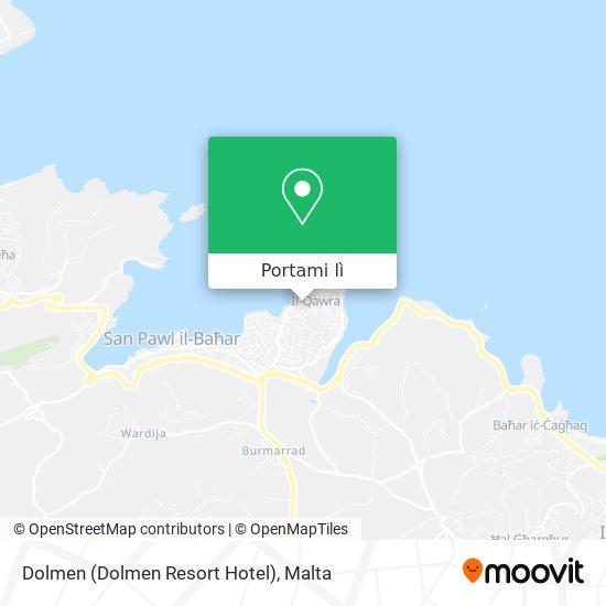 Mappa Dolmen (Dolmen Resort Hotel)