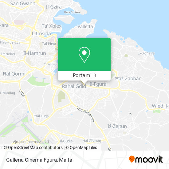 Mappa Galleria Cinema Fgura