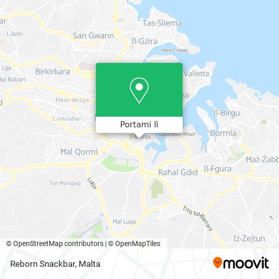Mappa Reborn Snackbar