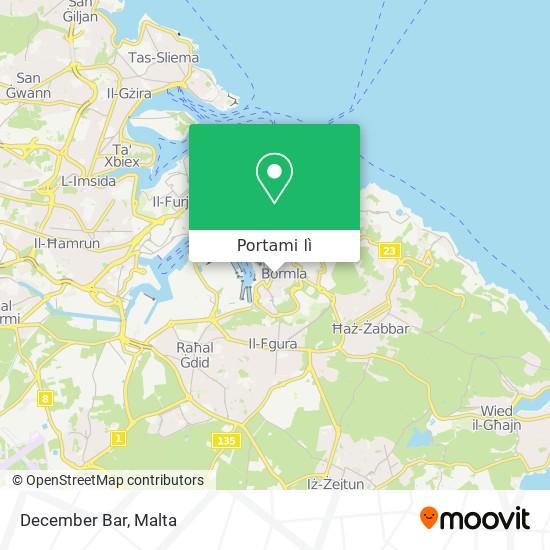Mappa December Bar