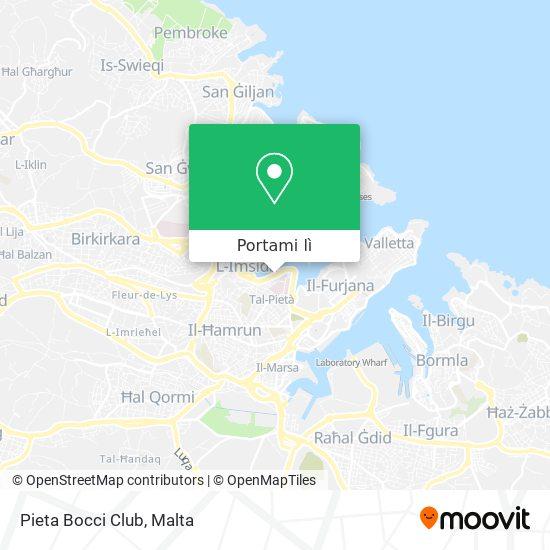 Mappa Pieta Bocci Club