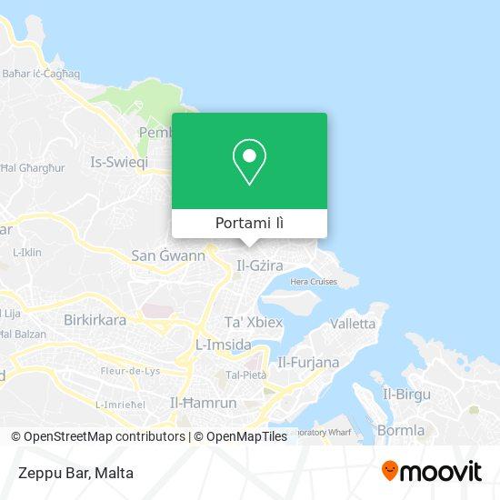Mappa Zeppu Bar