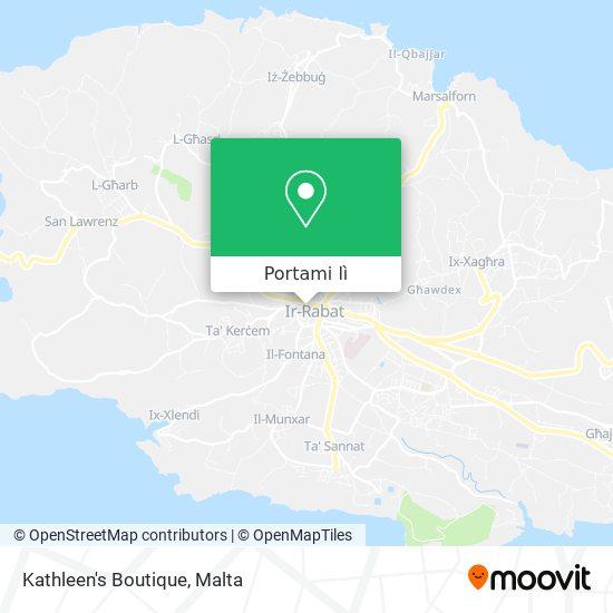 Mappa Kathleen's Boutique