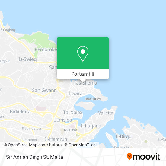 Mappa Sir Adrian Dingli St